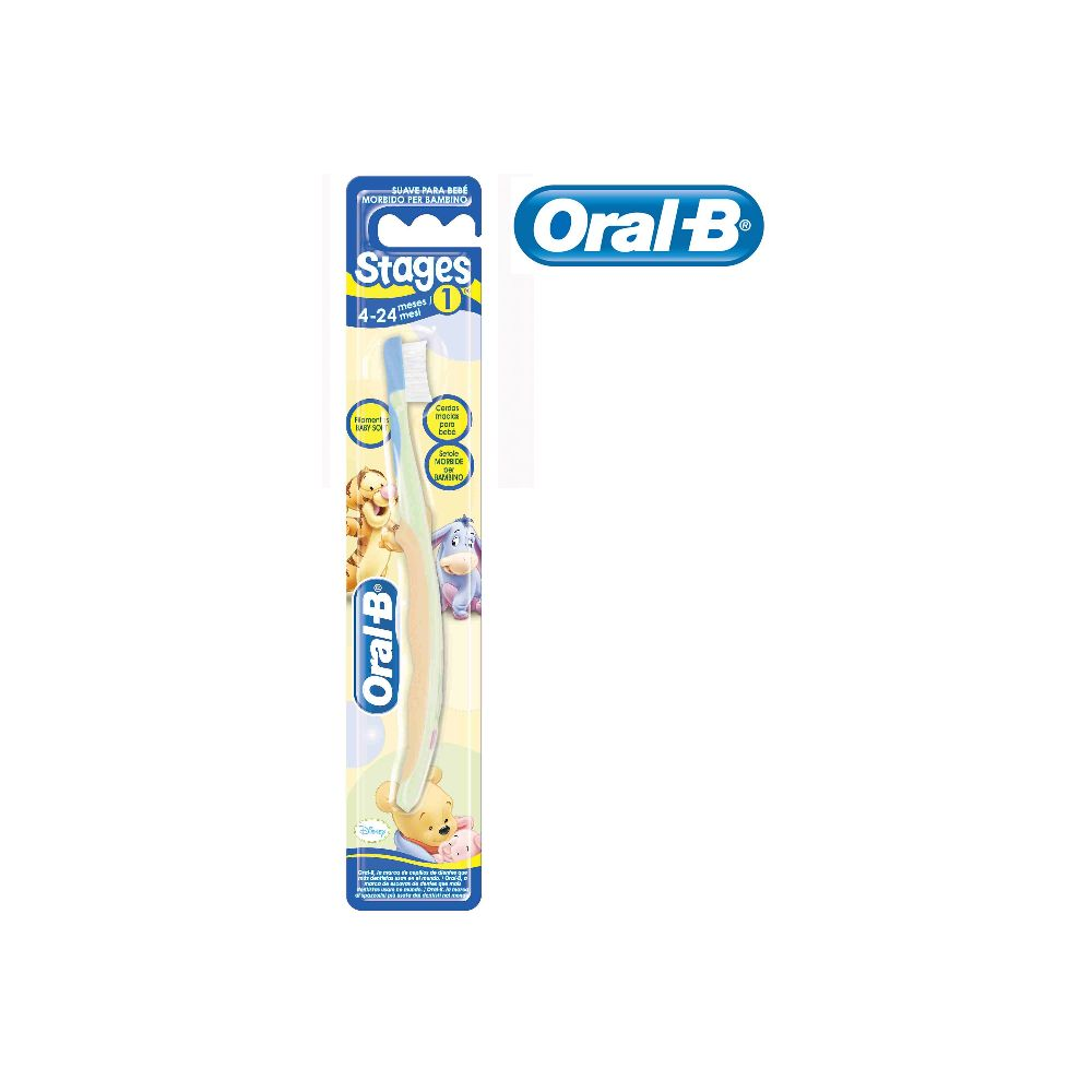 Cepillo Stages 4-24 meses Oral B
