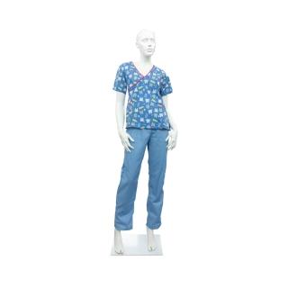 Pijama de Mujer Azul Cielo...
