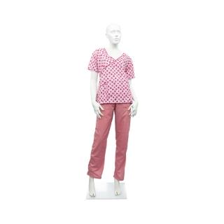 Pijama de Mujer Rosa Corazones