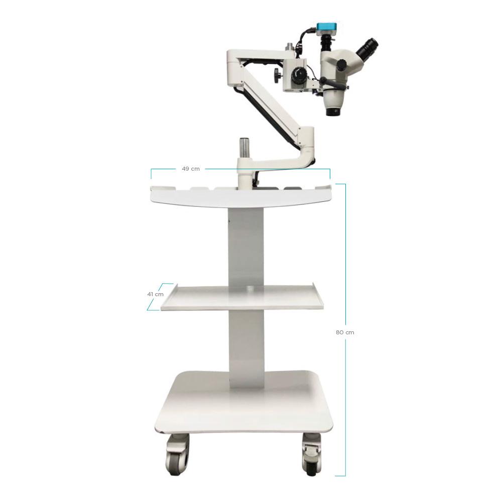 Microscopio con Medida